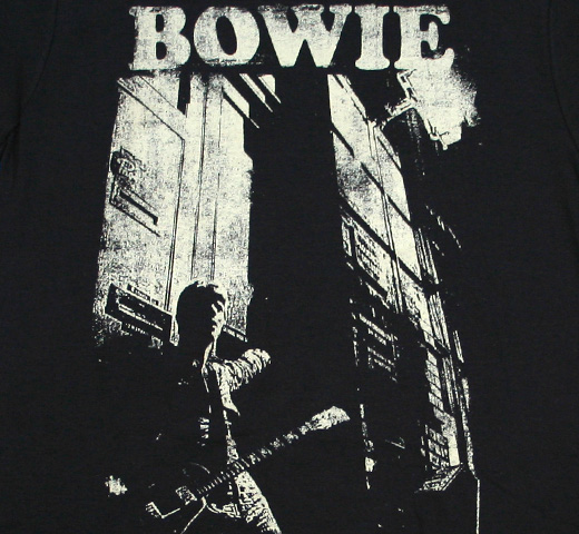 David Bowie / The Rise and Fall of Ziggy Stardust and the Spiders from Mars (Alternate) Tee (Vintage Black)