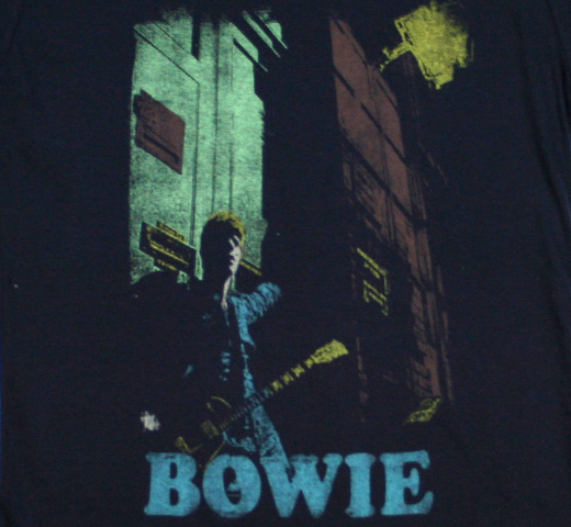 David Bowie / The Rise and Fall of Ziggy Stardust and the Spiders from Mars (Alternate) Tee (Dark Navy) (Womens)