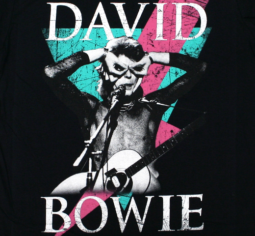 David Bowie / Hand Glasses Tee (Black)