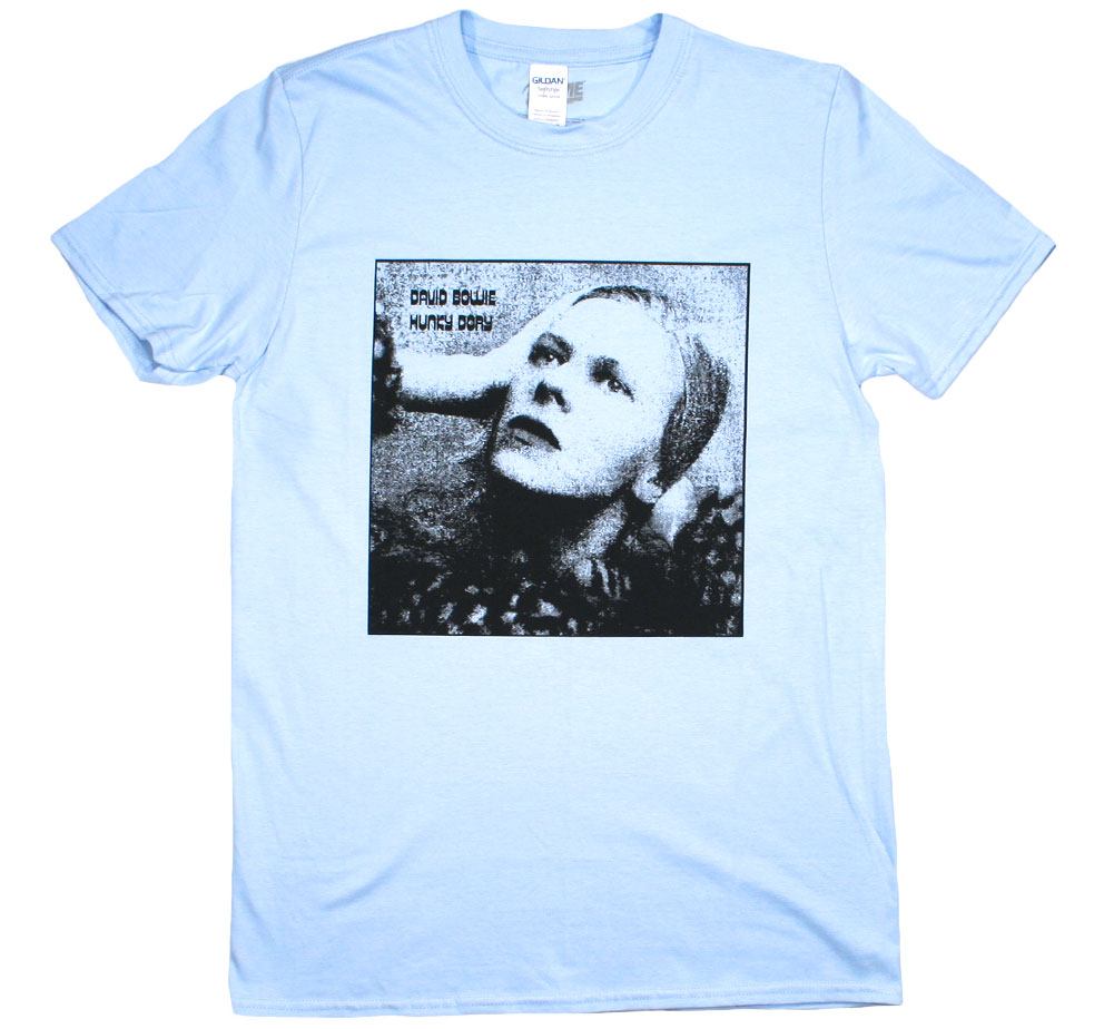 David Bowie / Hunky Dory Tee 2 (Light Blue)