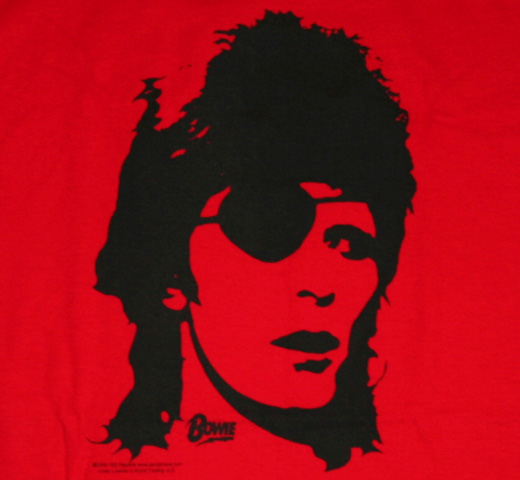 David Bowie / Pirate Tee (Red)