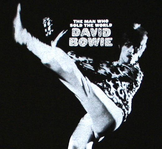 David Bowie / The Man Who Sold The World Tee (Black)