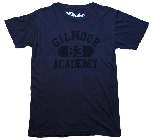 【Worn Free】 David Gilmour / Gilmour Academy Tee (Navy Blue)