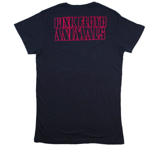 【Worn Free】 David Gilmour / Pink Floyd Animals Tee (Dark Navy)