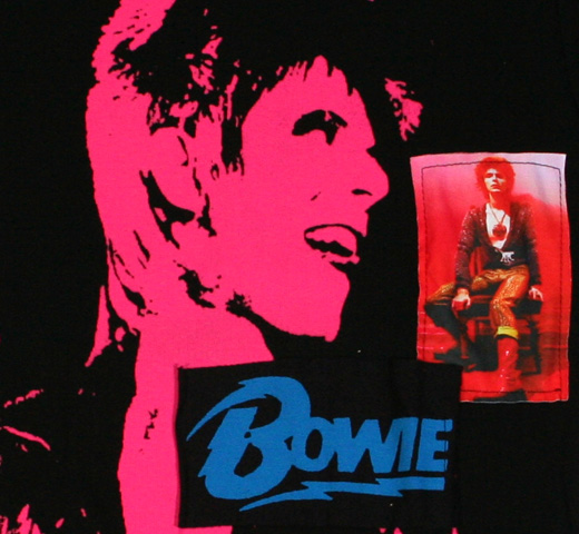 David Bowie / Patch Tee (Womens)
