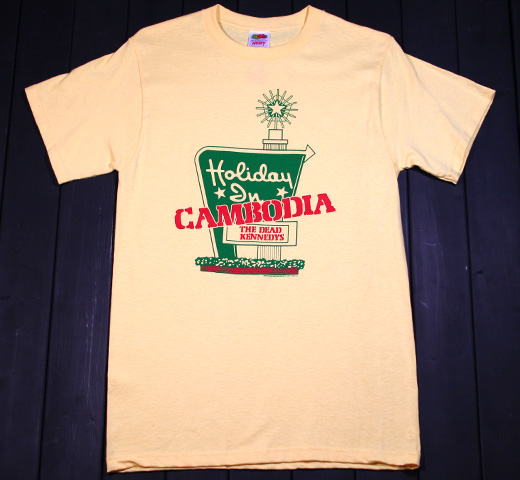 Dead Kennedys / Cambodia Tee