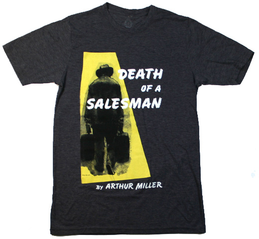 【Out of Print】 Arthur Miller / Death of a Salesman Tee (Antique Denim)