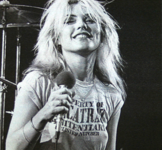 【Worn Free】 Debbie Harry / Alcatraz Tee (Heather Grey)