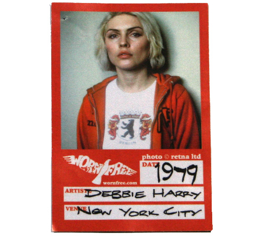 【Worn Free】 Debbie Harry / Berlin Tee