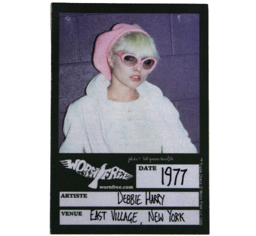 【Worn Free】 Debbie Harry / Cadet Bluejackets Tee (White)