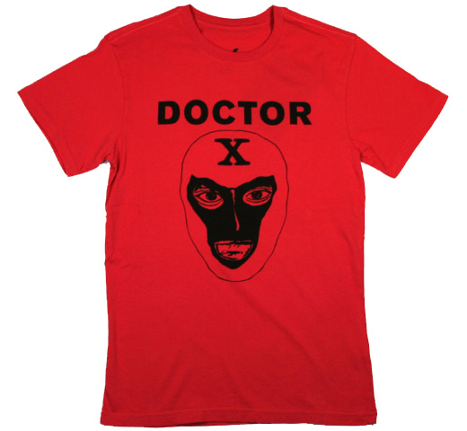 【Worn Free】 Debbie Harry / Doctor X Tee (Red)