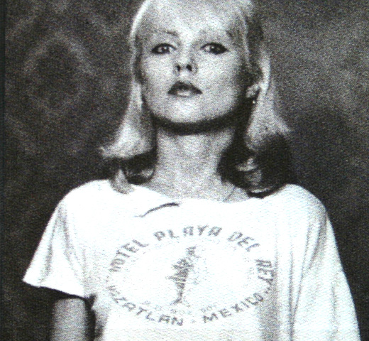 【Worn Free】 Debbie Harry / Hotel Playa Del Rey Tee (White)