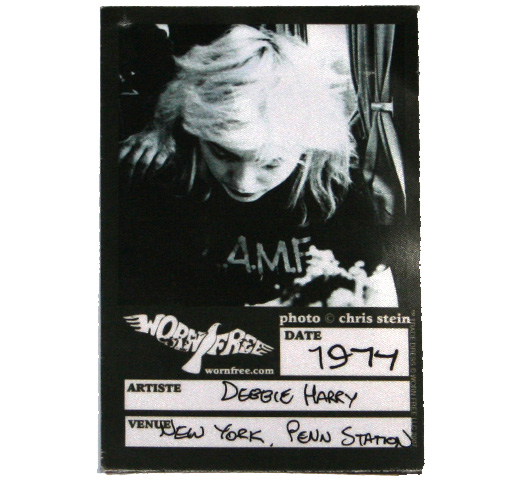 【Worn Free】 Debbie Harry / L.A.M.F. Tee 1 (Black)