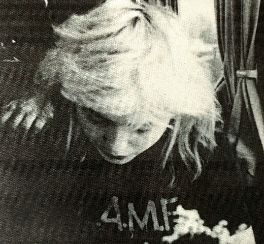 【Worn Free】 Debbie Harry / L.A.M.F. Tee 2 (Black)