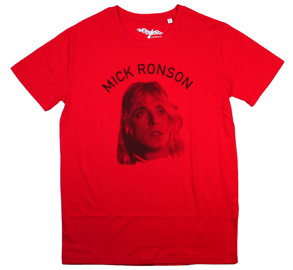【Worn Free】 Debbie Harry with Bob Gruen / Mick Ronson Tee (Red)