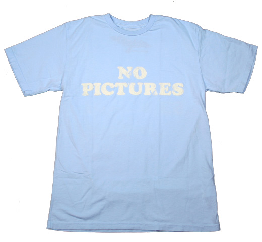 【Worn Free】 Debbie Harry / No Pictures Tee (Light Blue)