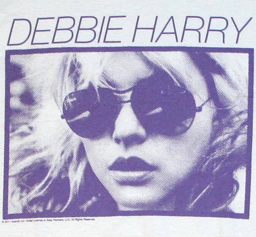Debbie Harry / Portrait (Sunglasses) Tee (Silver)