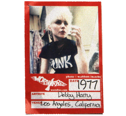 【Worn Free】 Debbie Harry / Punk Tee (Red)