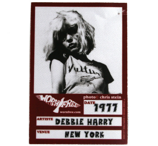 【Worn Free】 Debbie Harry / Vultures Tee (Yellow/Black Trim)