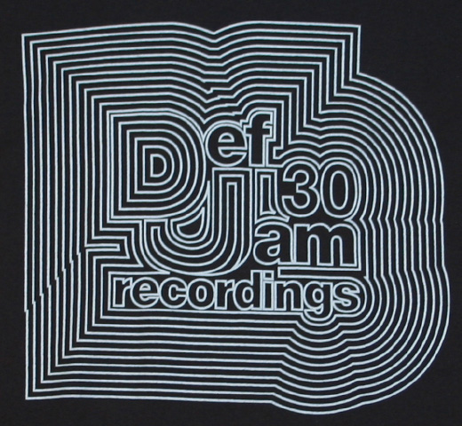 Def Jam Recordings / Def Jam 30th Anniversary Tee 1 (Black)