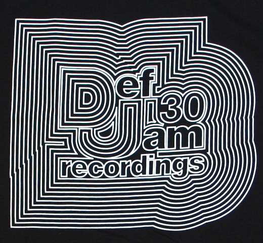 Def Jam Recordings / Def Jam 30th Anniversary Tee 2 (Black)