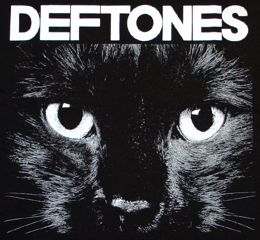 Deftones / Cat's Eyes Tee (Black)