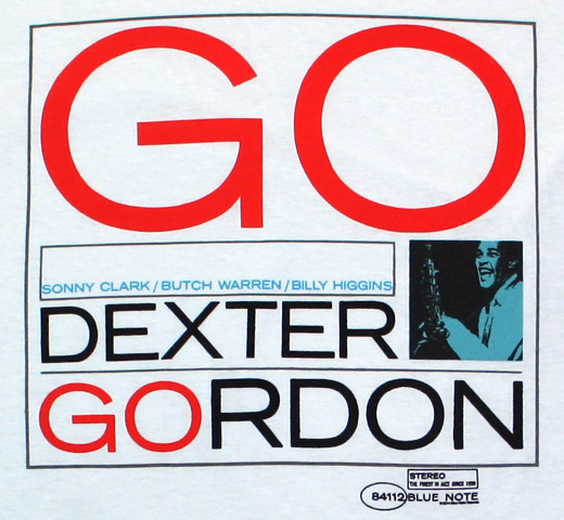 Dexter Gordon / GO! Tee (White)