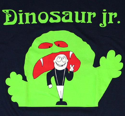 Dinosaur Jr. / Monster & Boy Tee (Dark Navy)