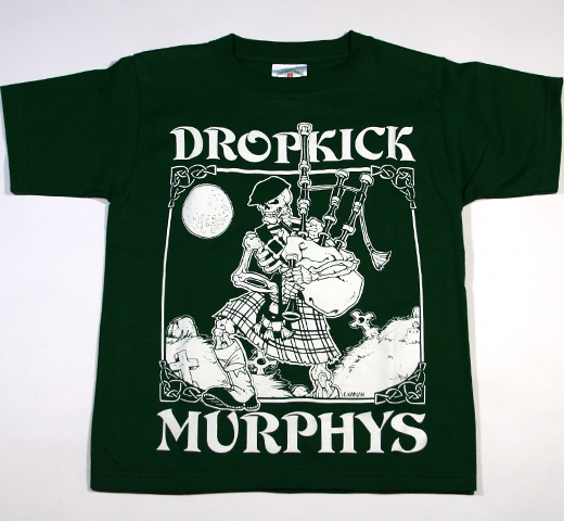 Dropkick Murphys / Skeleton Piper Tee