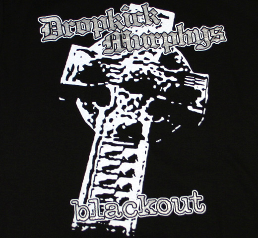 Dropkick Murphys / Celtic Cross Blackout Tee