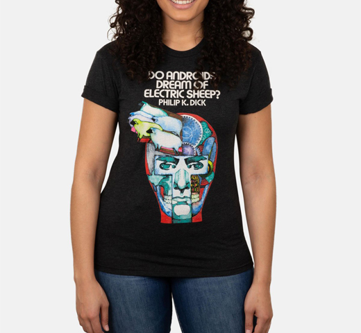 [Out of Print] Philip K. Dick / Do Androids Dream of Electric Sheep? Tee (Vintage Black)