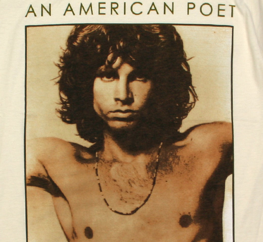 The Doors / An American Poet Tee 2 (Vintage White)