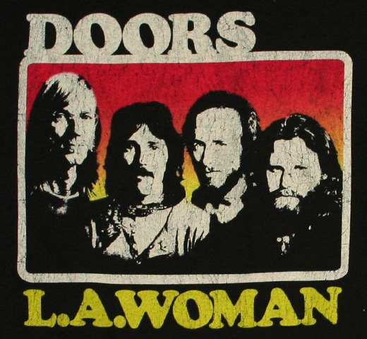 The Doors / L.A. Woman Tee (Womens)