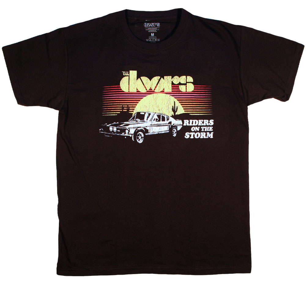 The Doors / Riders on the Storm Tee 2 (Black)