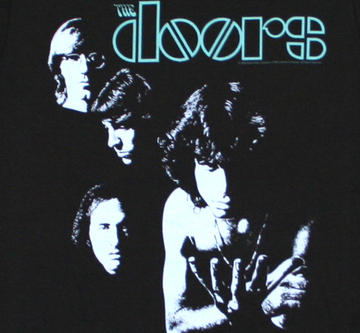 The Doors / Riders on the Storm Tee (Vintage Black)