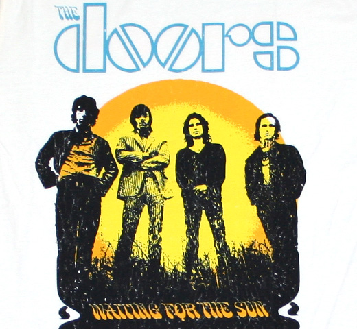 The Doors / Waiting for the Sun Tee (Cream)