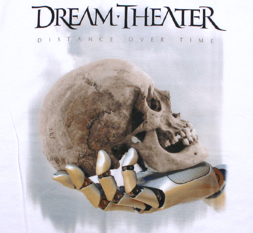 Dream Theater / Distance Over Time Tour Tee (White)