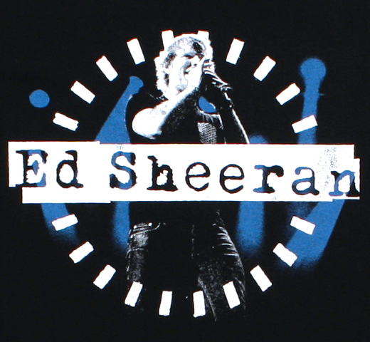Ed Sheeran / Stage Photo Tee (Black)