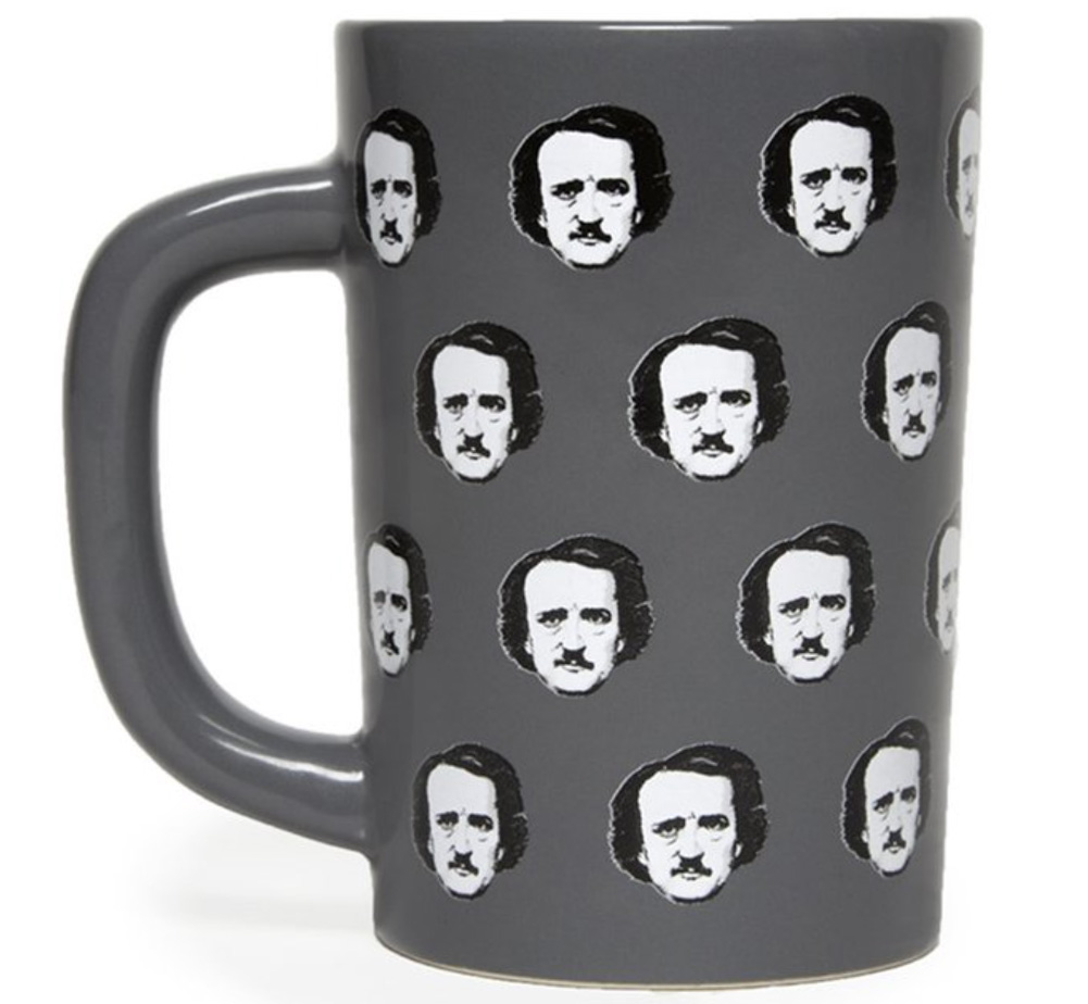 【Out of Print】 Edgar Allan Poe / Poe-ka Dots Mug