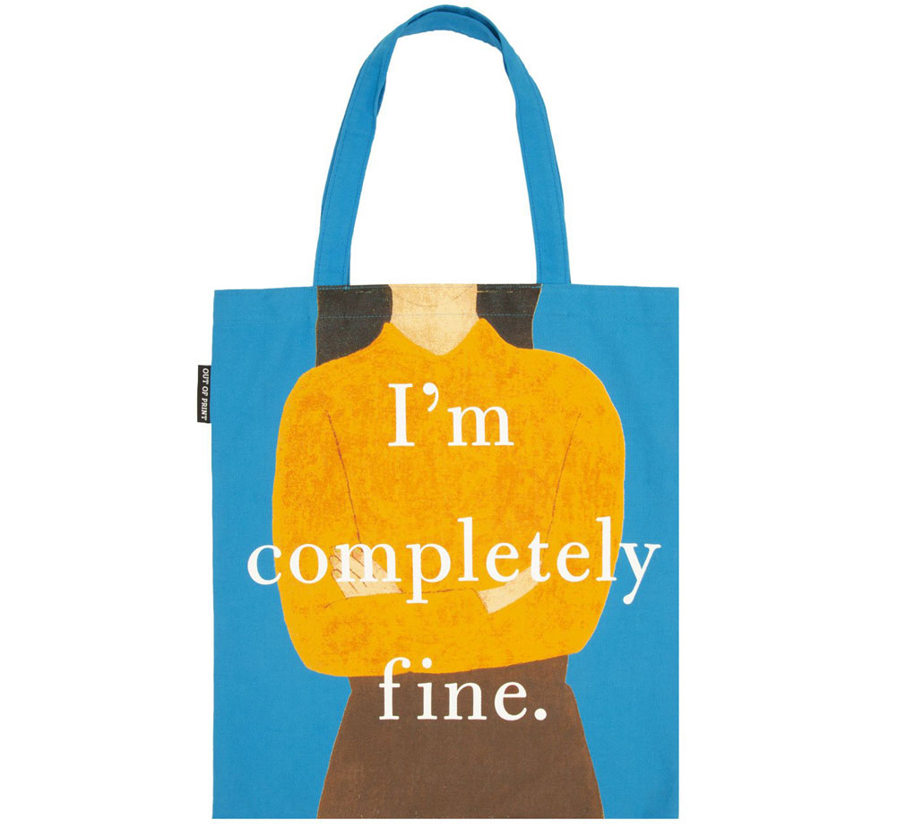 [Out of Print] Gail Honeyman / Eleanor Oliphant is Completely Fine Tote Bag