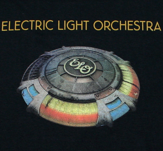 Electric Light Orchestra / Mr. Blue Sky Tee (Black)