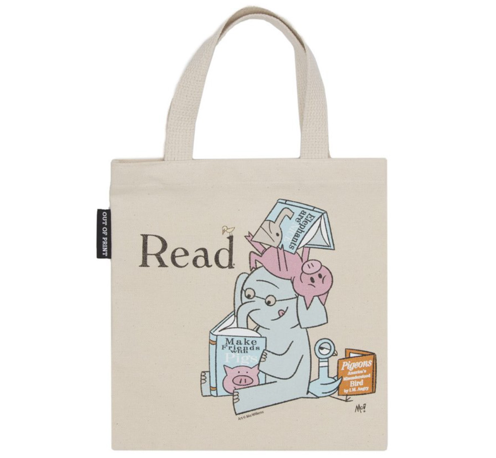 [Out of Print] Mo Willems / Read with Elephant & Piggie, and The Pigeon Kids Tote Bag