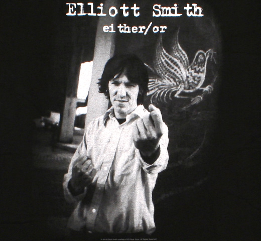 Elliott Smith / Either/Or Tee (Black)
