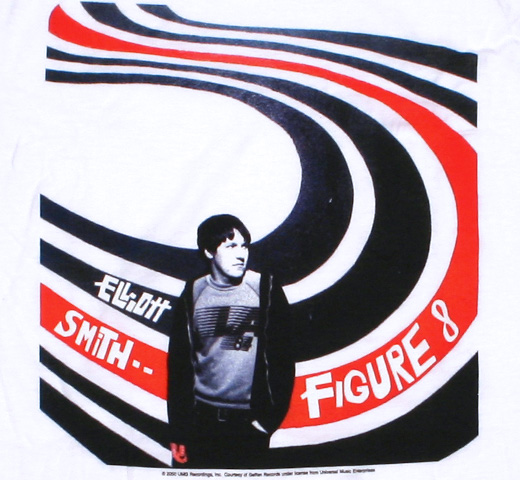 Elliott Smith / Figure 8 Tee (White)