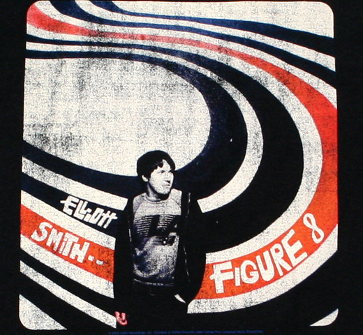 Elliott Smith / Figure 8 Tee (Black)