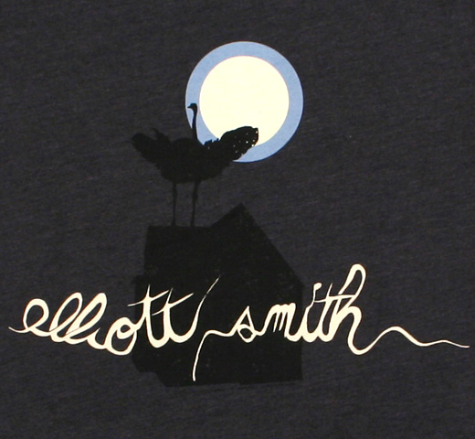 Elliott Smith / From a Basement on the Hill Tee (Charcoal) (Womens)