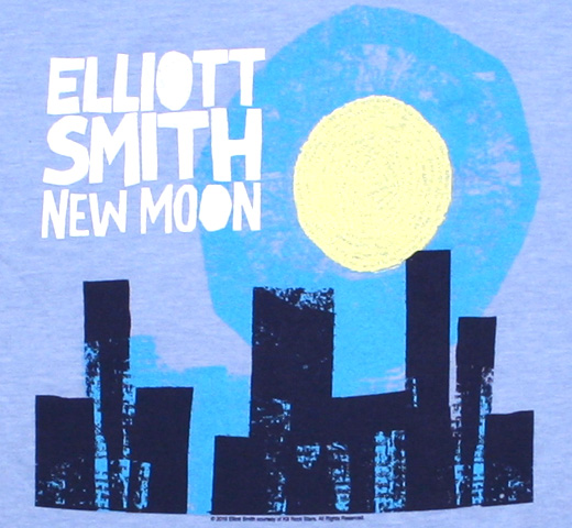 Elliott Smith / New Moon Tee (Heather Blue)