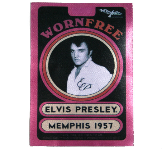 【Worn Free】 Elvis Presley / Elvis Polo (Black)
