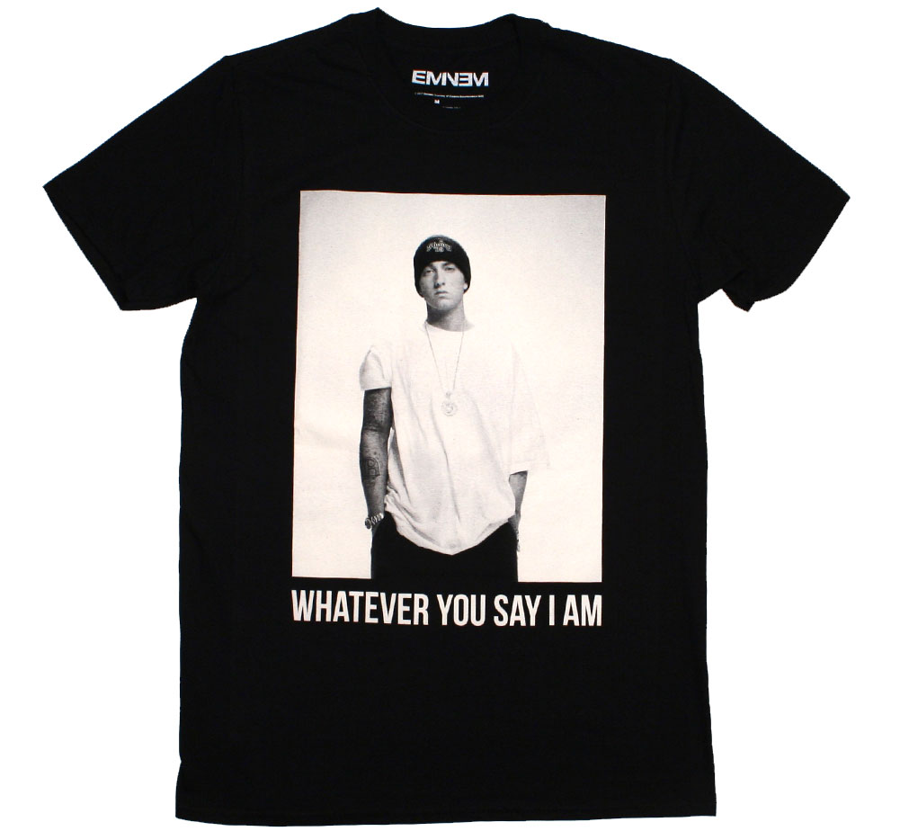 Eminem / Whatever You Say I Am Tee (Black)