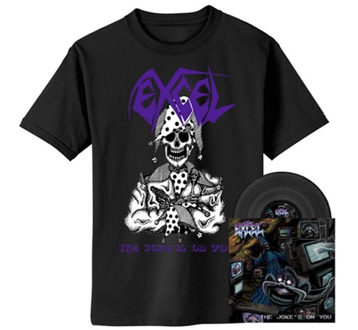 Excel / Jester Tee (Black) + The Joke's on You (Black Vinyl)